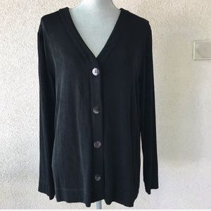 Chico's Travelers Slinky Cardigan Sweater 3 or 16